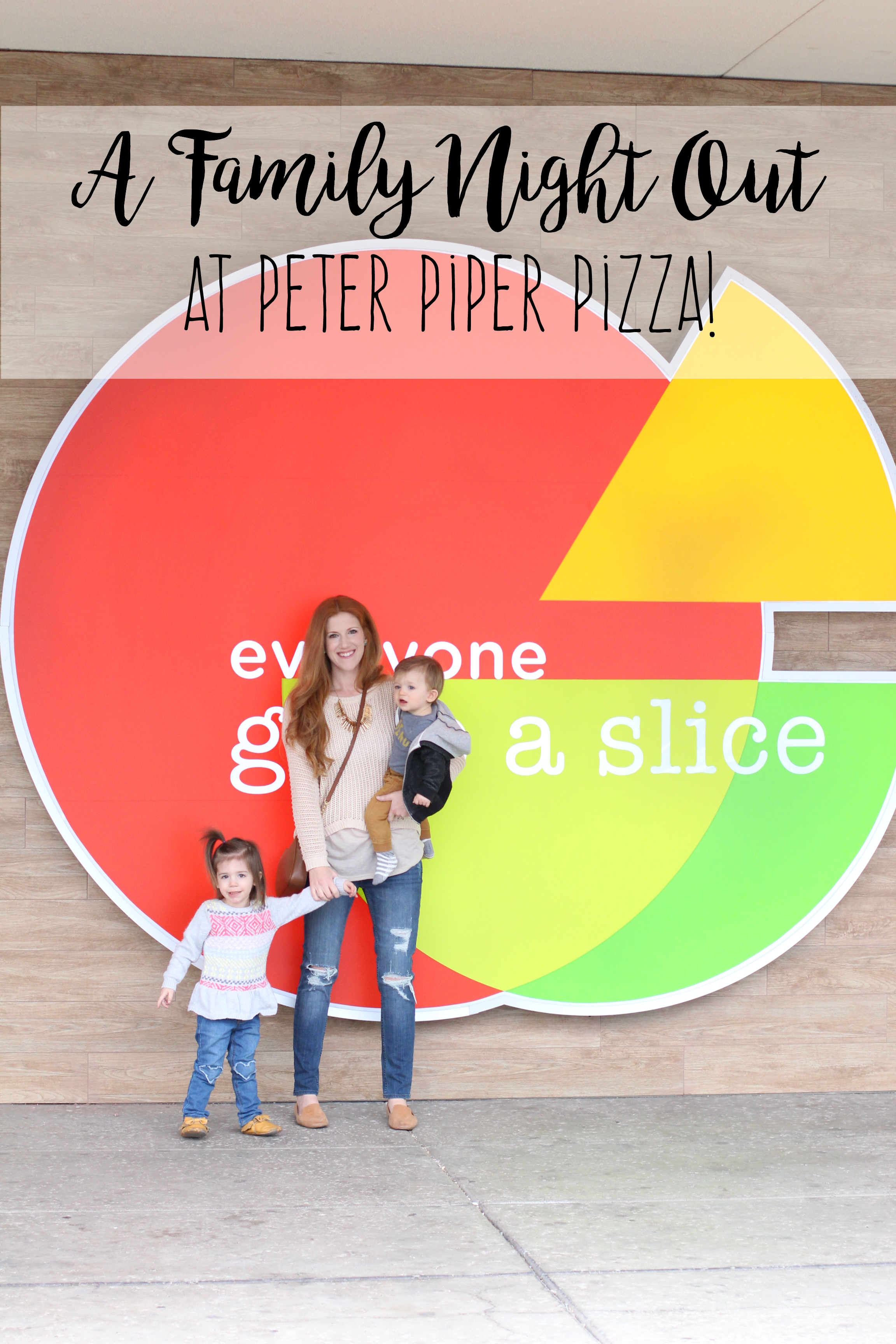 A Family Night Out at Peter Piper Pizza