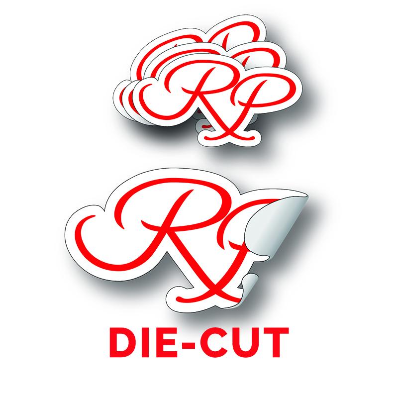 Die Cut Stickers RP