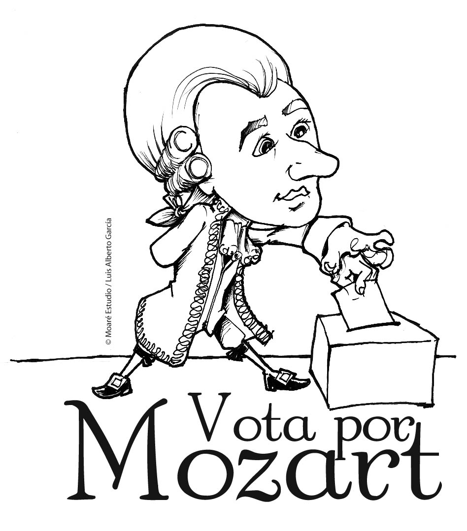 Free Coloring Pages Of Colorear A Mozart