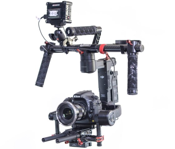 Ronin M + stand + case $134 per day (with no camera, lens, or HD recorder included) $450 per day for the additional Nikon D810 camera + Zeiss 21mm lens + BlackMagic HD recorder.