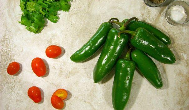 Serrano Pepper Hot Salsa
