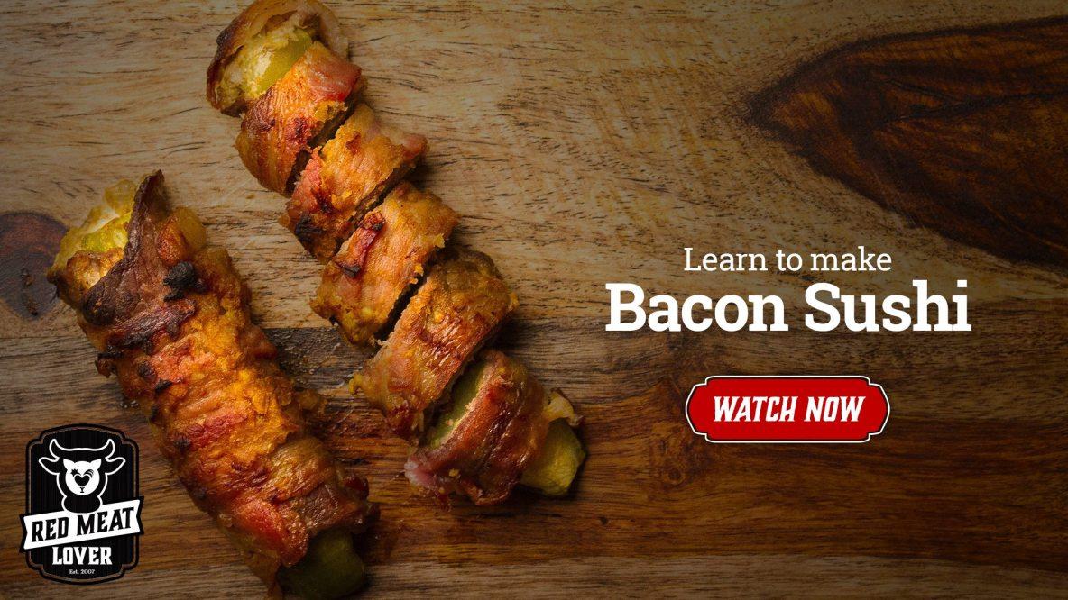 Bacon Sushi