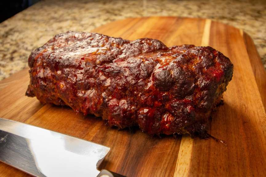 Tasty Smoked Meatloaf Recipe