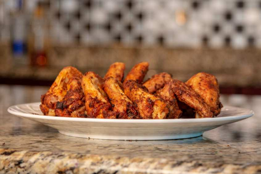 Whole Chicken Wings Baked in Oven