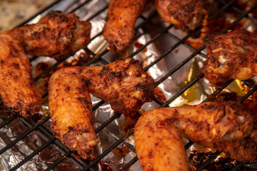 Healthy Oven Baked Chicken Wings