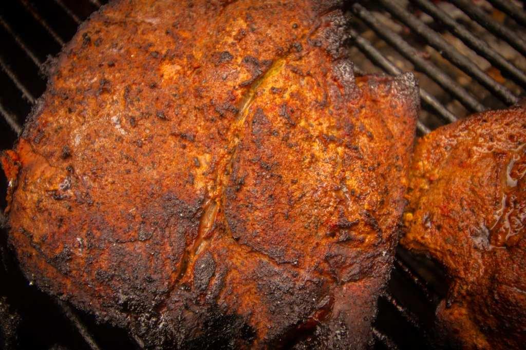 Smoked Chuck Roast Burnt Ends