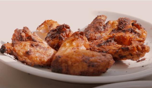 baking powder chicken wings