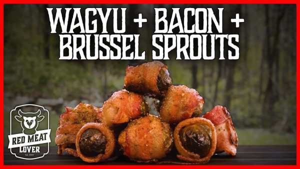 wagyu+bacon+brussel sprouts