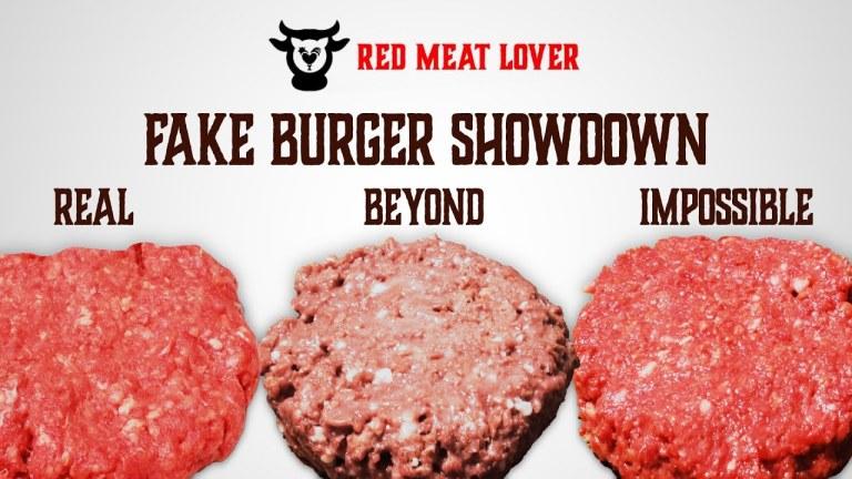 Fake Burger Showdown