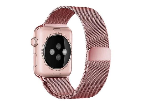 bratara rose gold apple watch