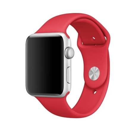 bratara silicon rosu apple watch