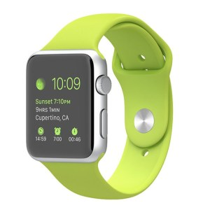 curea verde apple watch din silicon