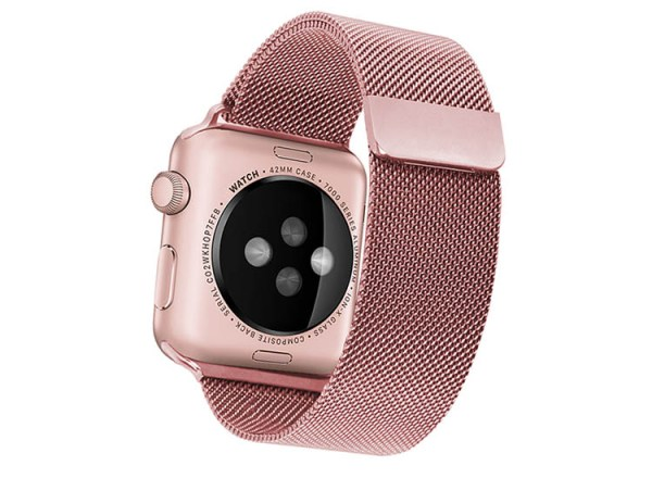 bratara roz apple watch