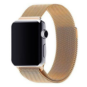 bratara apple watch 4 gold auriu