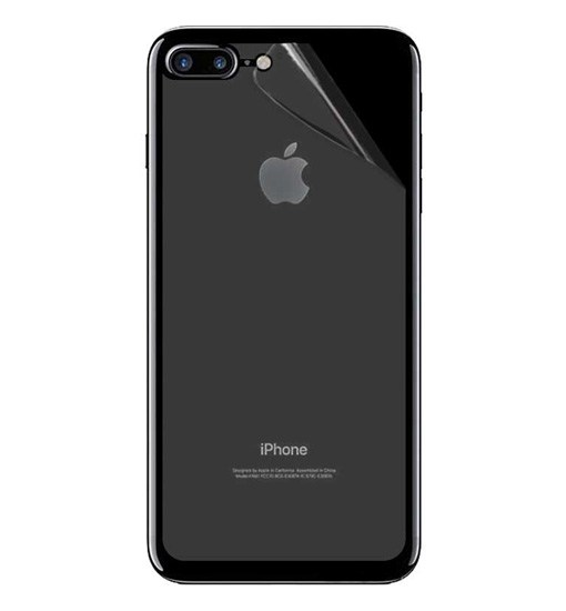 folie spate iphone 7 plus iphone 8 plus din plastic