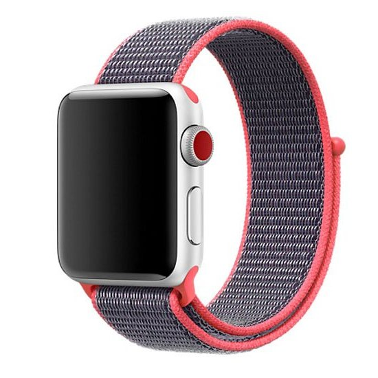 bratara rosie apple watch 1/2/3/4 textil