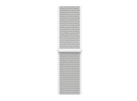 curea alba textil apple watch 4