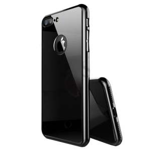 husa negru lucios apple iphone 7 8