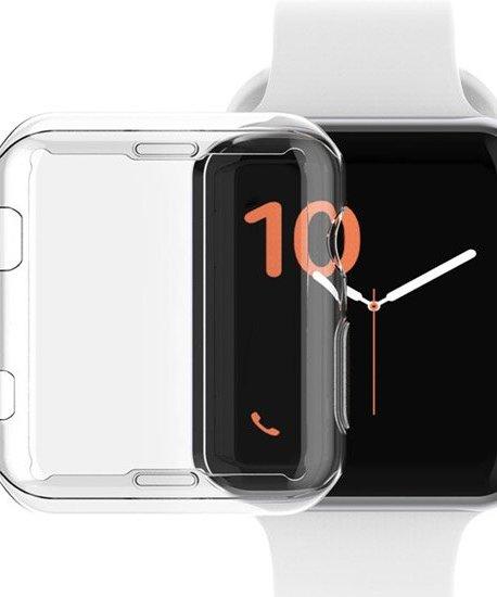 husa transparenta din silicon apple watch