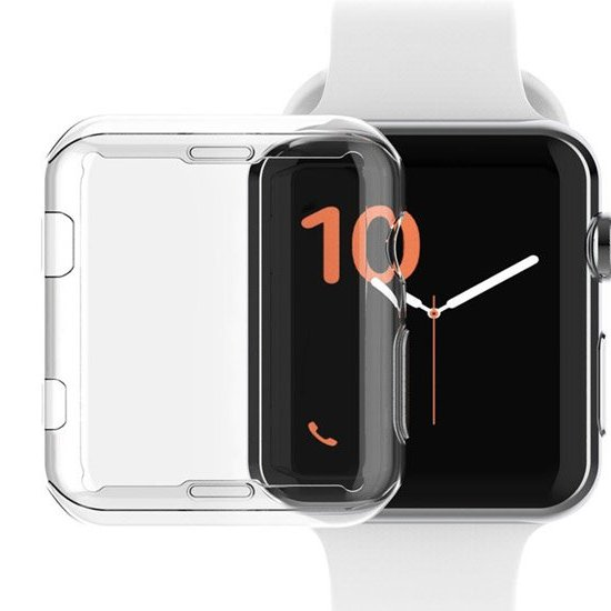 husa transparenta din silicon apple watch
