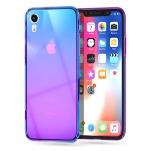 husa transparenta apple iphone xr mov fashion