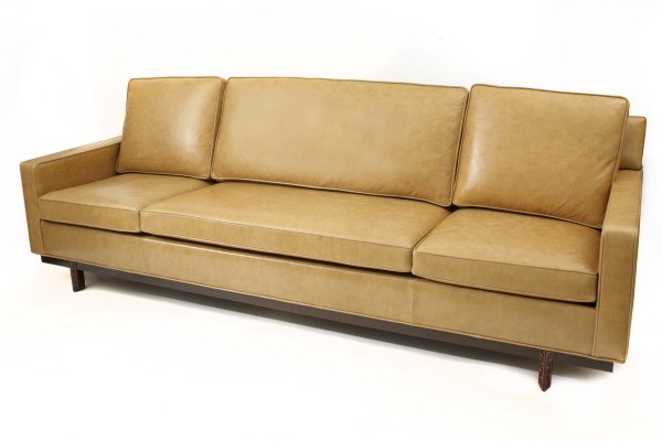 henredon sofa leather plastic cover pair of frank lloyd wright for sofas ...