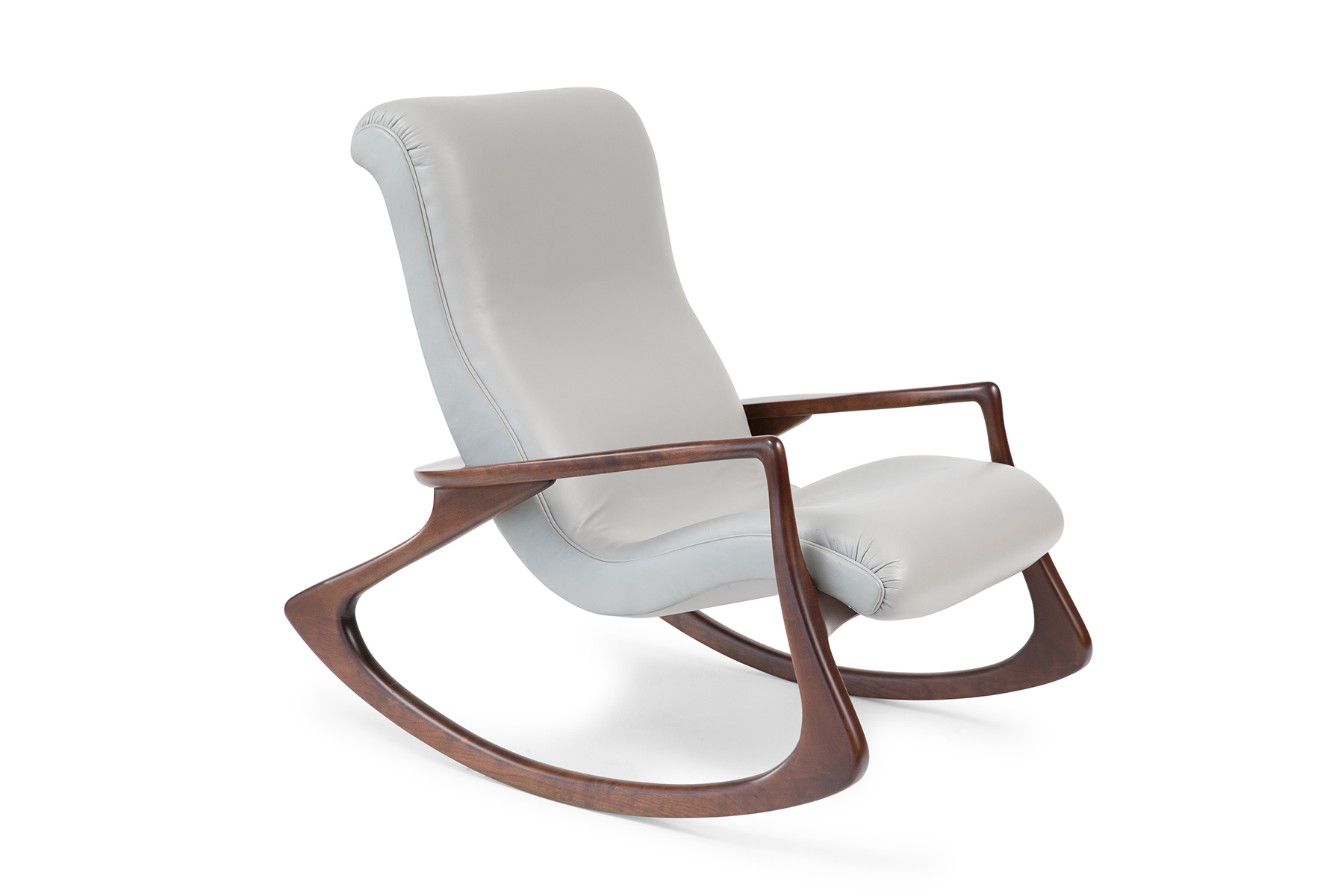 Rocking Chairs Stunning Vladimir Kagan Contour Rocking Chair