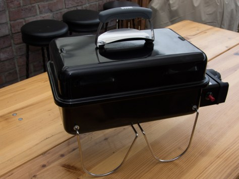 Redmountain BBQ Weber Go Anywhere Gas Vollansicht