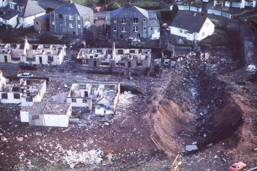 Lockerbee after crash