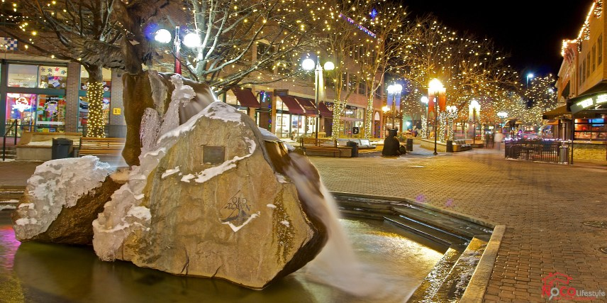 Icy Old Towne Fountain!