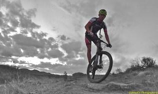 Doing work on the Mountain Bike!