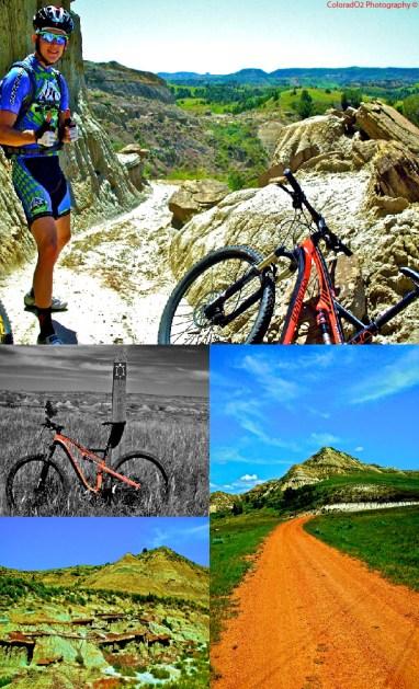 Maah-daah-Hey Trail Collage!