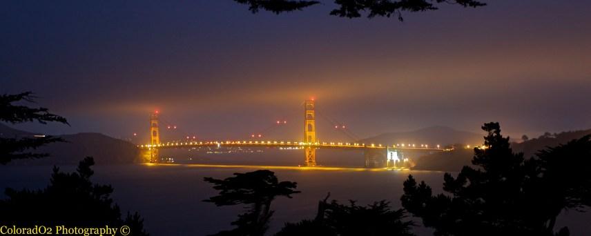 Golden Gate Bridge at Night!