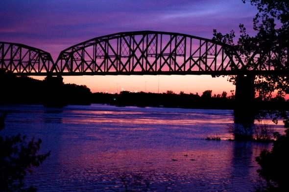 Sunset Over Missouri