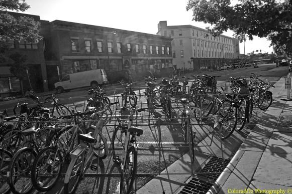 Bikes, Bikes, Bikes in Fort Collins...:)