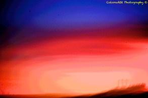 """Messy Sunset"""