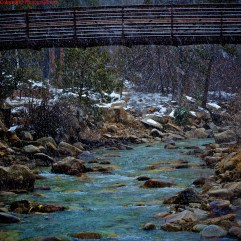 Natural Hot Springs w/ Snow Fall - Bliss!