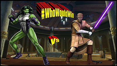 #WhoWouldWin: She-Hulk vs Mace Windu