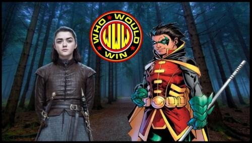 #WhoWouldWin: Arya Stark vs Damian Wayne