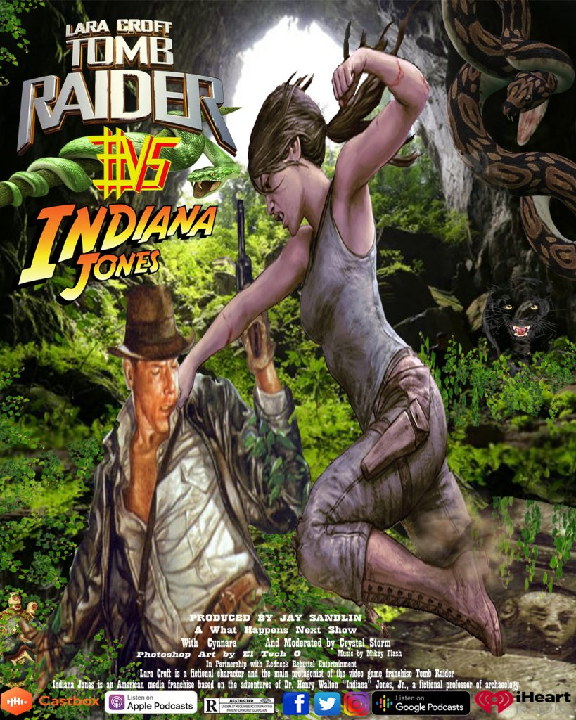 Indiana Jones #VS Lara Croft