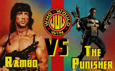 Rambo VS The Punisher
