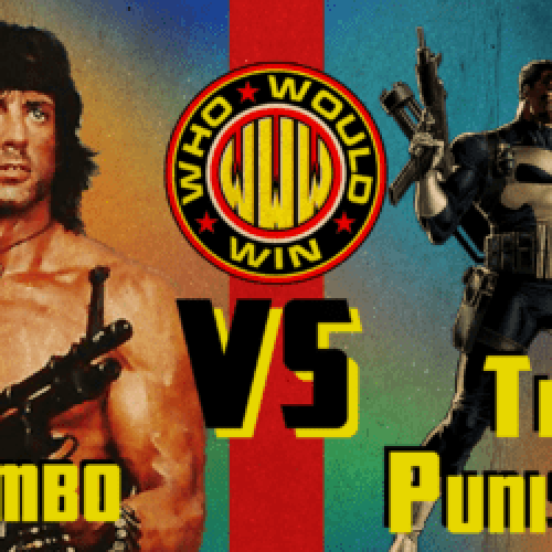 Rambo VS The Punisher