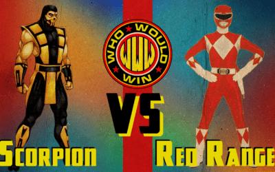 The OG Red Power Ranger vs Scorpion
