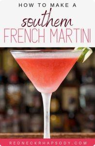 Southern French Martini pin