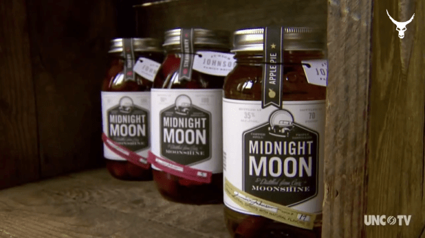 Redneck Moonshine Whisky Junior Johnson Midnight Moon