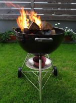 barbecue smokers, dutch oven, outdoor cooking redneck style, Kugelgrill