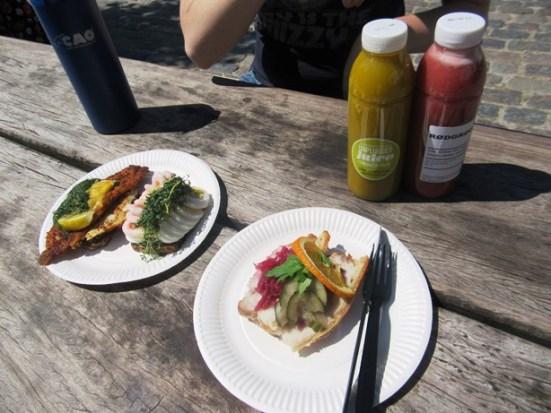 147-Smørrebrød & Juice for lunch