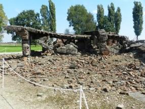 Demolished gas chamber/crematorium