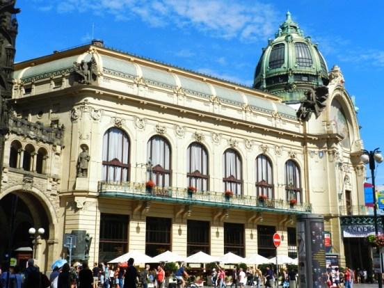 The Municipal House (an art nouveau venue for concerts)