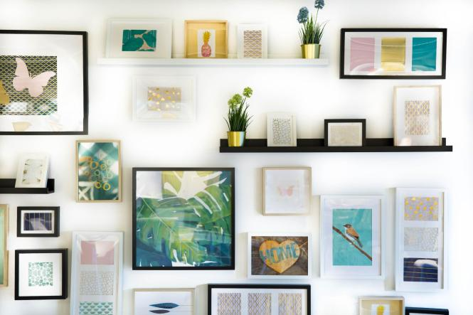 How To Hang Pictures In Your Apartment Without Damaging The